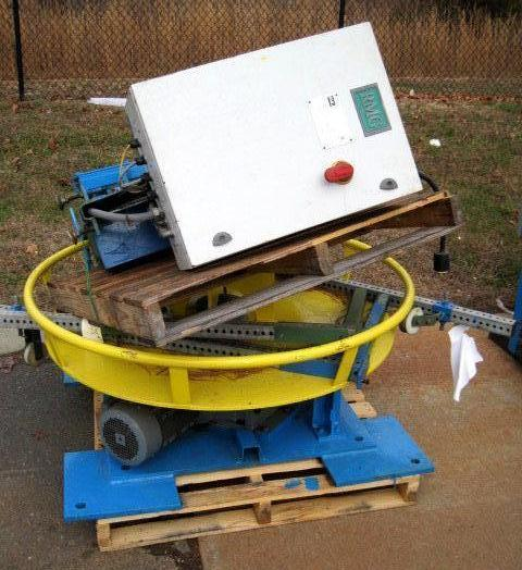 Motorized Wire Turntable