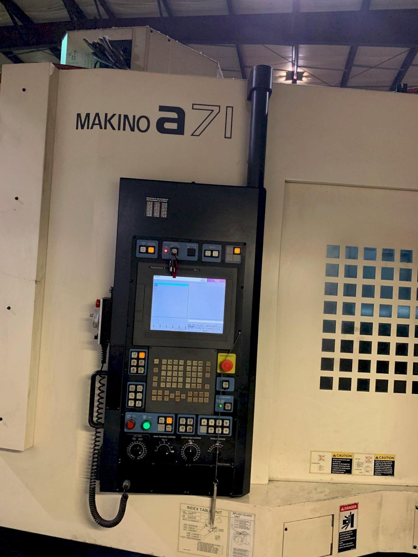 MAKINOMakino A71 CNC Horizontal Machining Center - 2 Available!