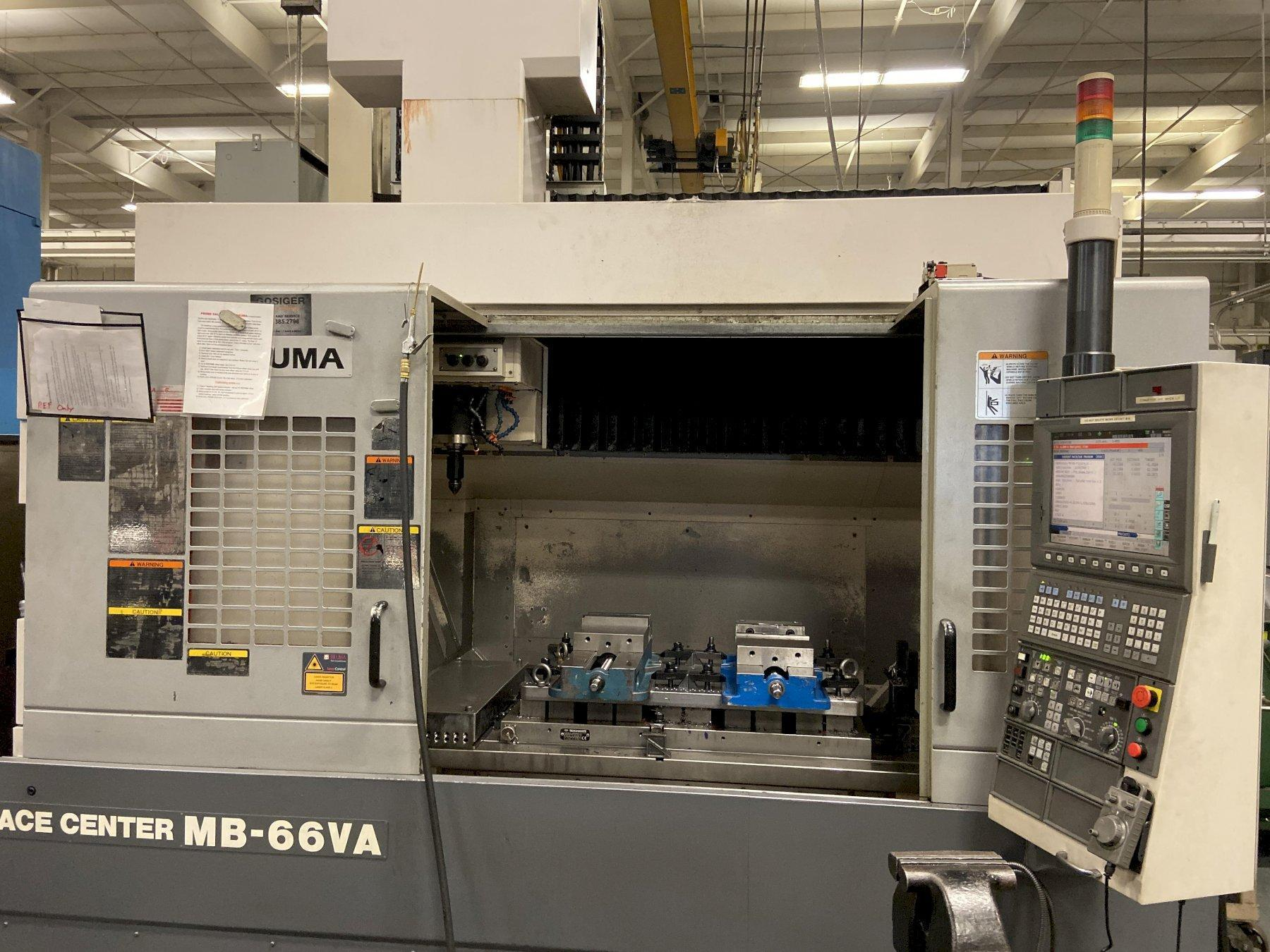 Okuma Ace Center MB66VA Vertical Machining Center