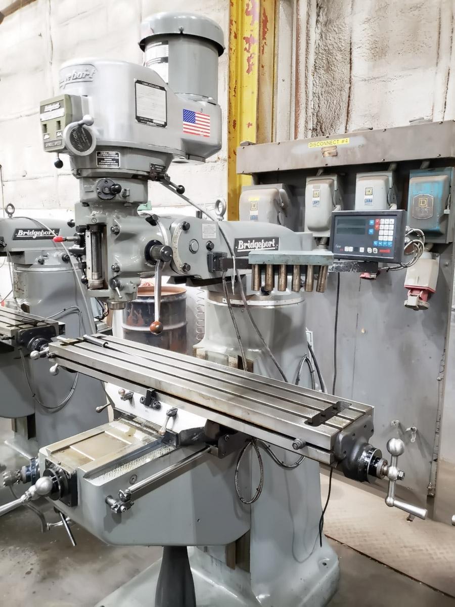 Bridgeport Series I Standard Vertical Knee Mill, 2002