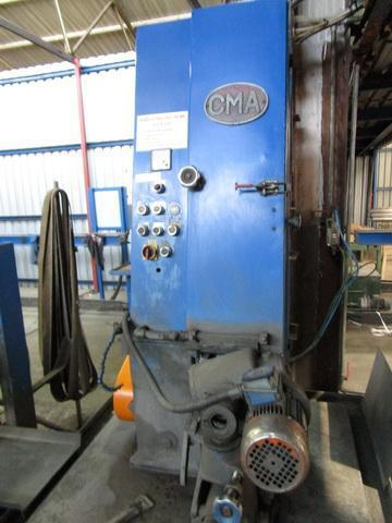 (2) CMA Two Head OD Stainless Steel  Polishers for Finishing / Buffing