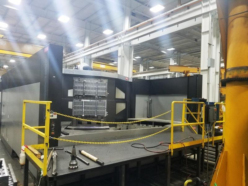 "2010 Toyoda FH-1250SX, Fanuc 310i-Model A Controls, 6K RPM, 49"" x 49"" Pallets, Cat 50, 121 ATC"