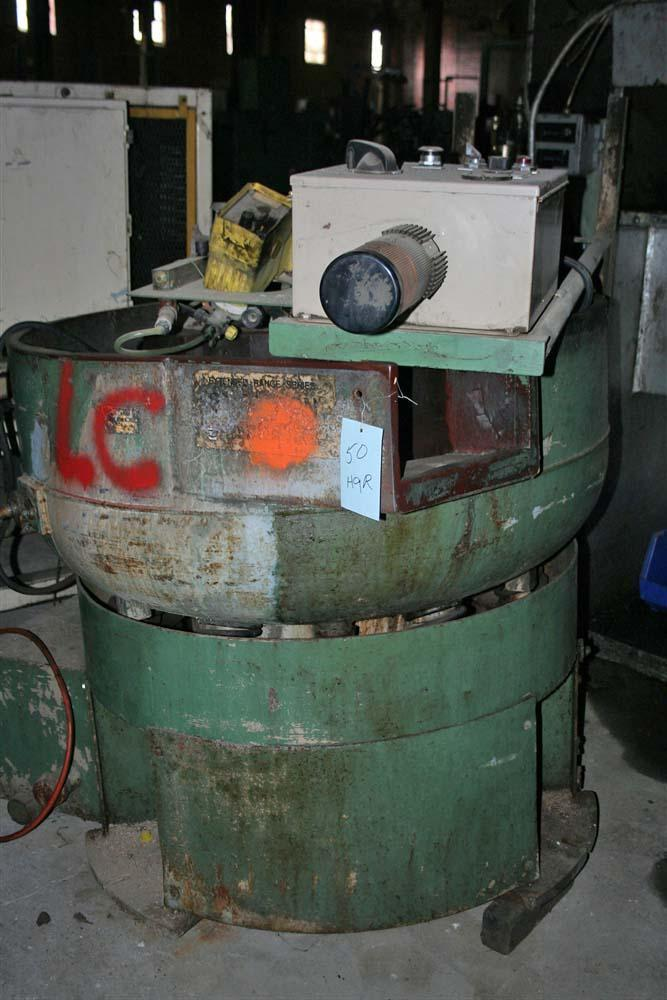 10 CUBIC FOOT SWECO VIBRATORY BOWL: STOCK #55797
