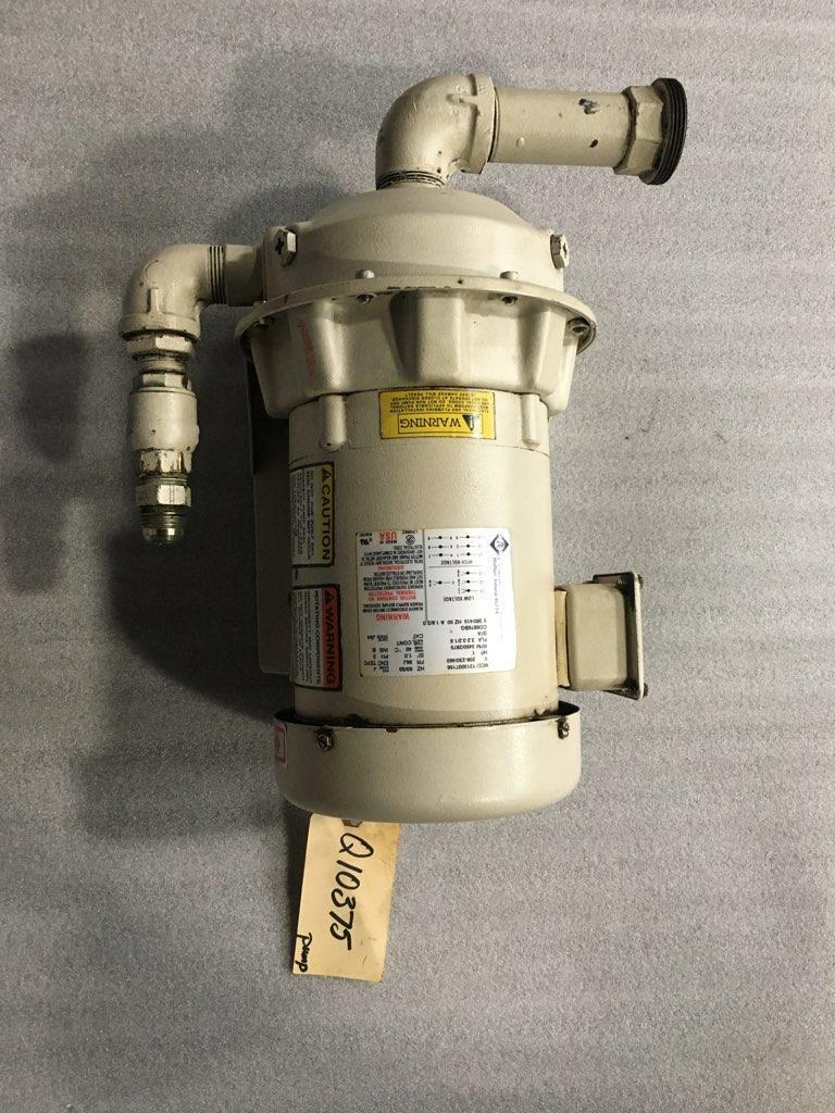 BELL & GOSSETT MODEL 1AM041, SERIES 3530 CENTRIFUGAL PUMP, FRANKLIN ELECTRIC 1 HP,  Model 1313007156, 3450/2875 RPM, 125 MAX PSI, 208-230/460/3/60/50