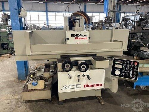 Okamoto ACC-1224DX Hydraulic Surface Grinder (1998)