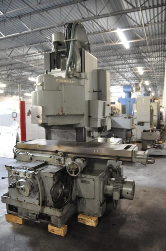 Cincinnati 330-18 Vercipower Vertical Milling Machine