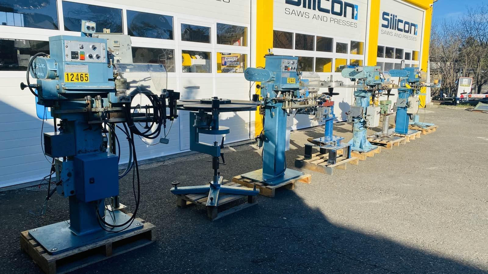 Alo Teknik 181-50B, 182-100B setting and coiling machines