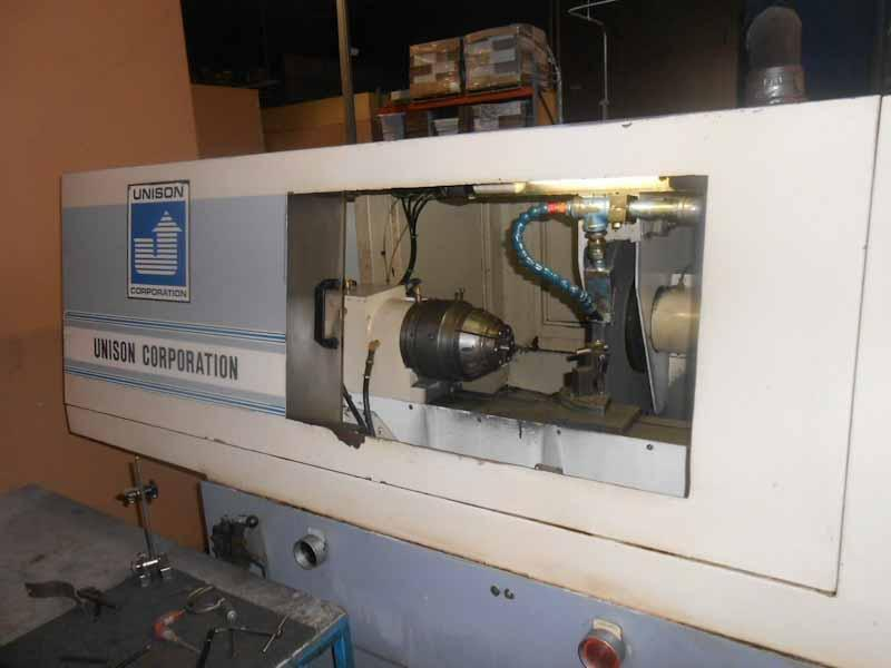 Unison Model 1000 4-Axis Camless CNC Profile Punch Grinder