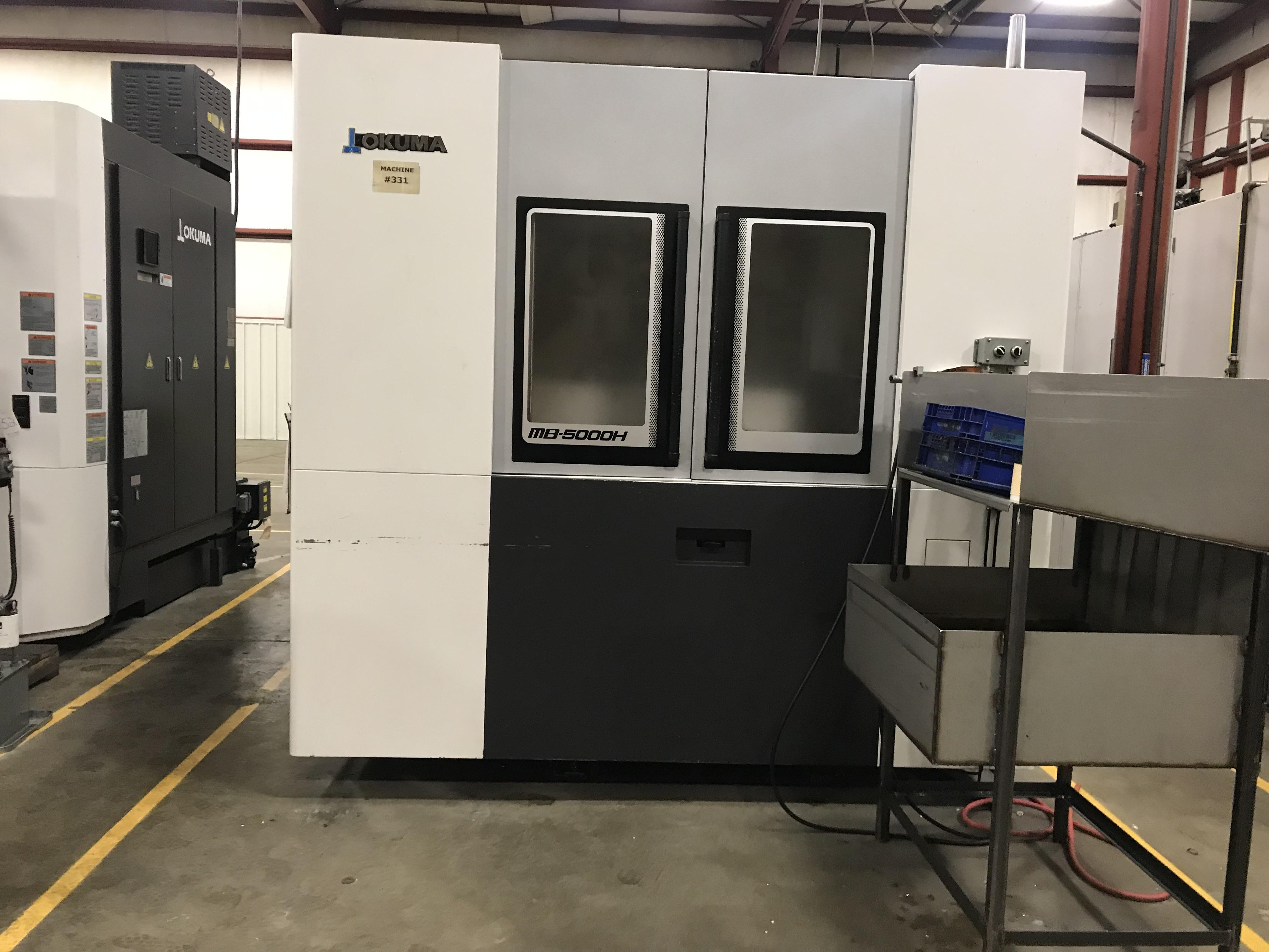 Okuma MB-5000H CNC Horizontal Machining Center, OSP300M, Full 4th, CTS, 19.69