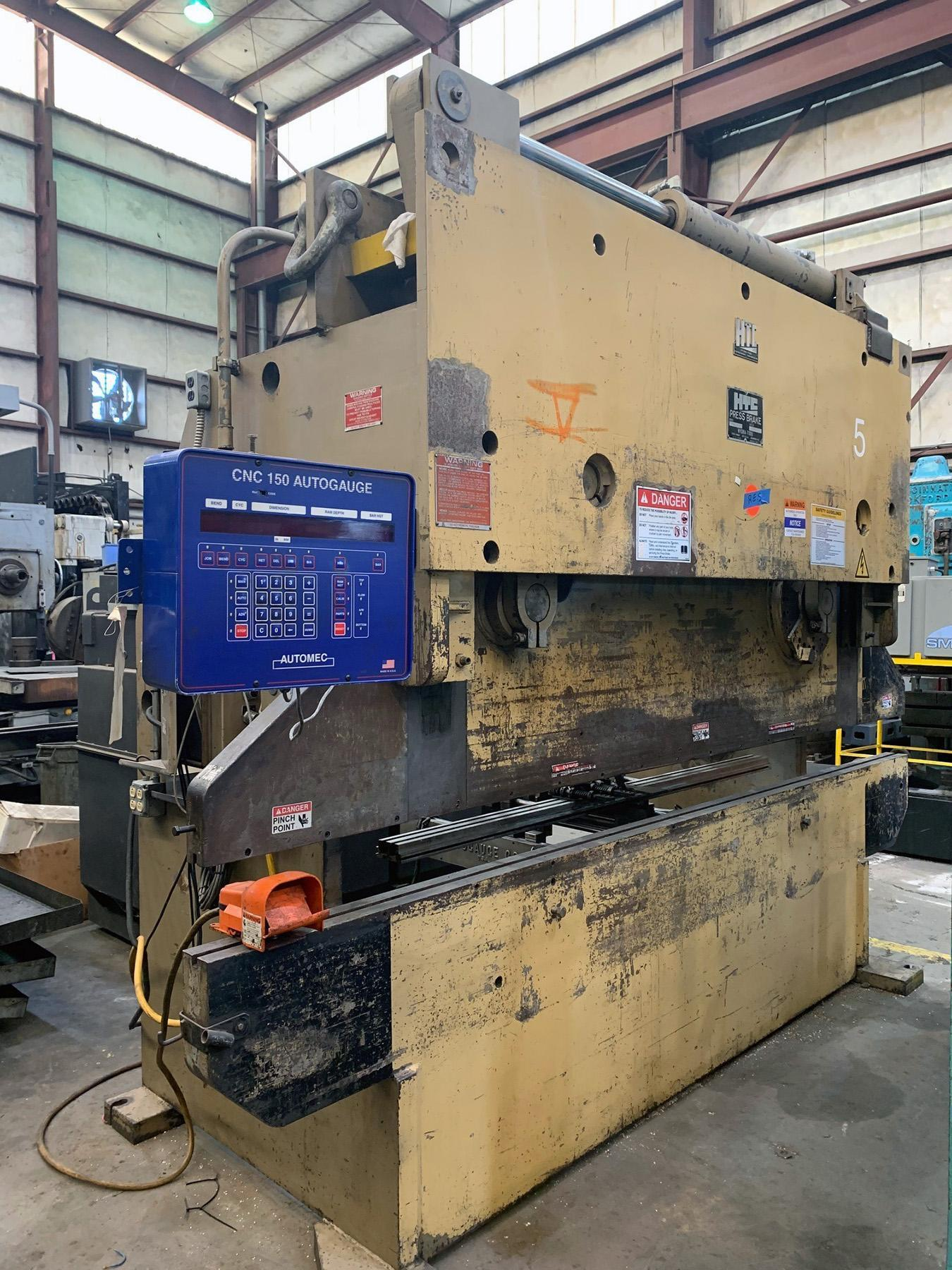 USED, 12' X 200 TON HTC MODEL 200-12R HYDRAULIC PRESS BRAKE