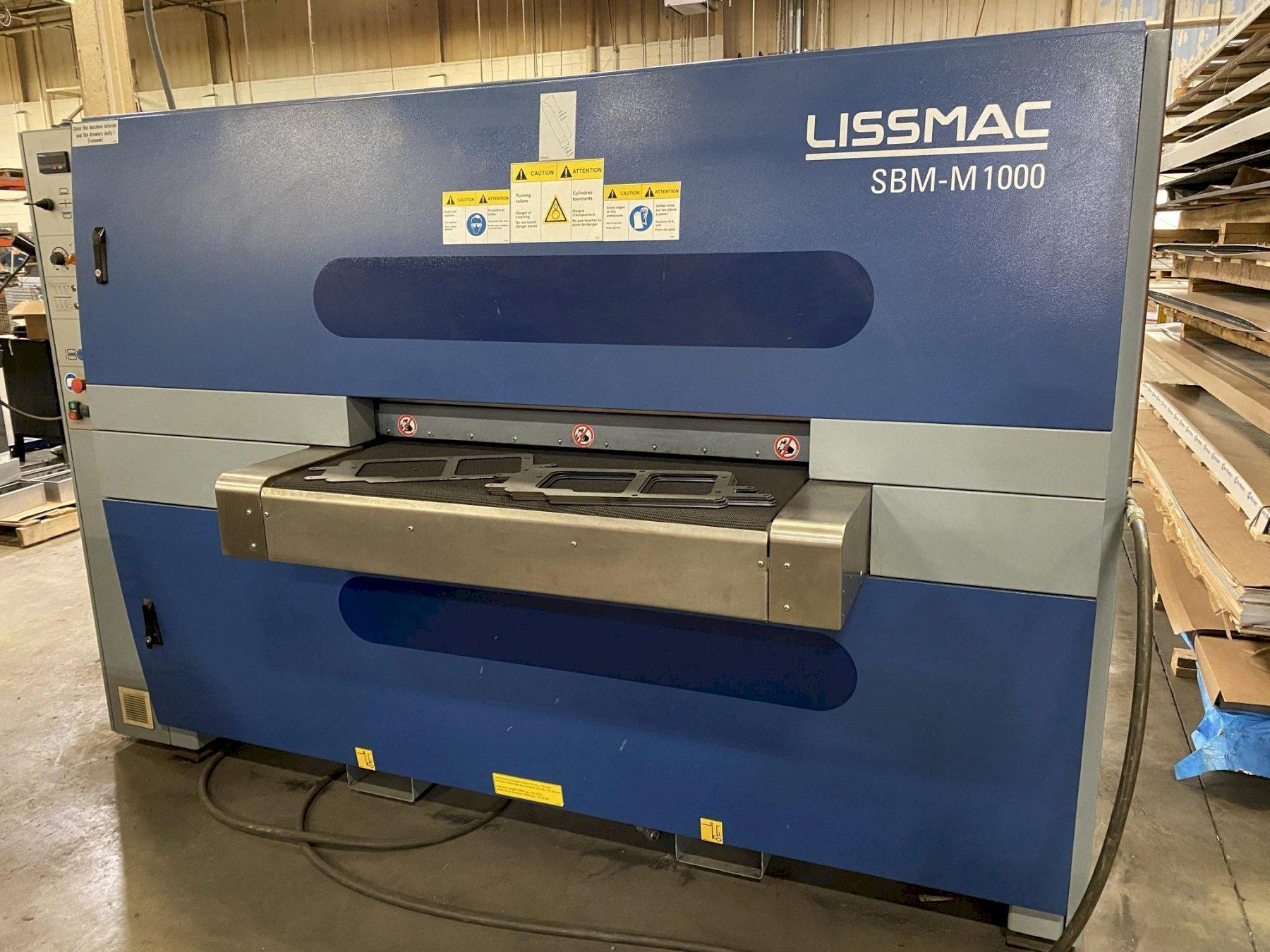 Lissmac SBM-m1000 B2-60 Dual Sided Deburring machine