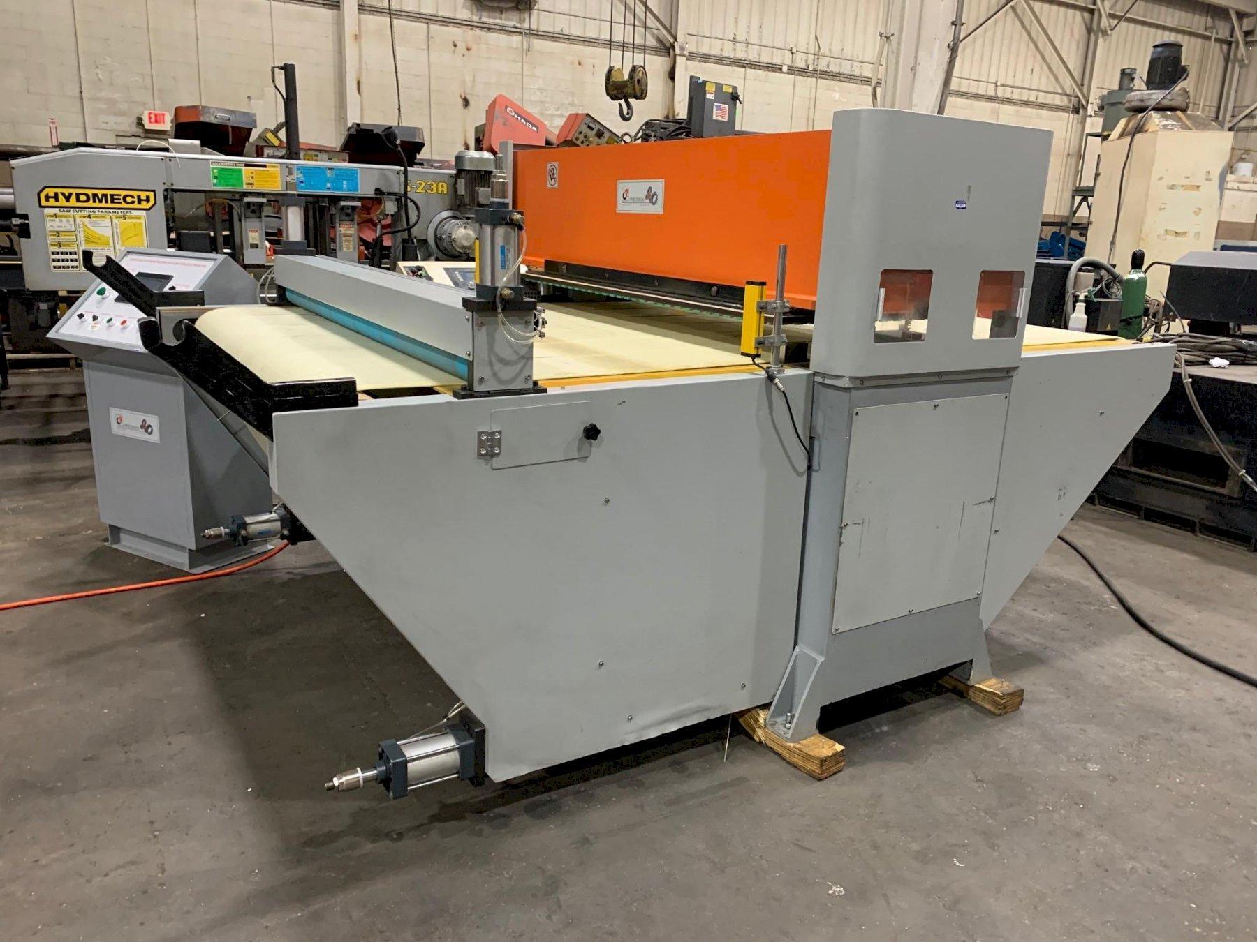 CJRTEC 40 Ton CNC Conveyorized Clicker Press