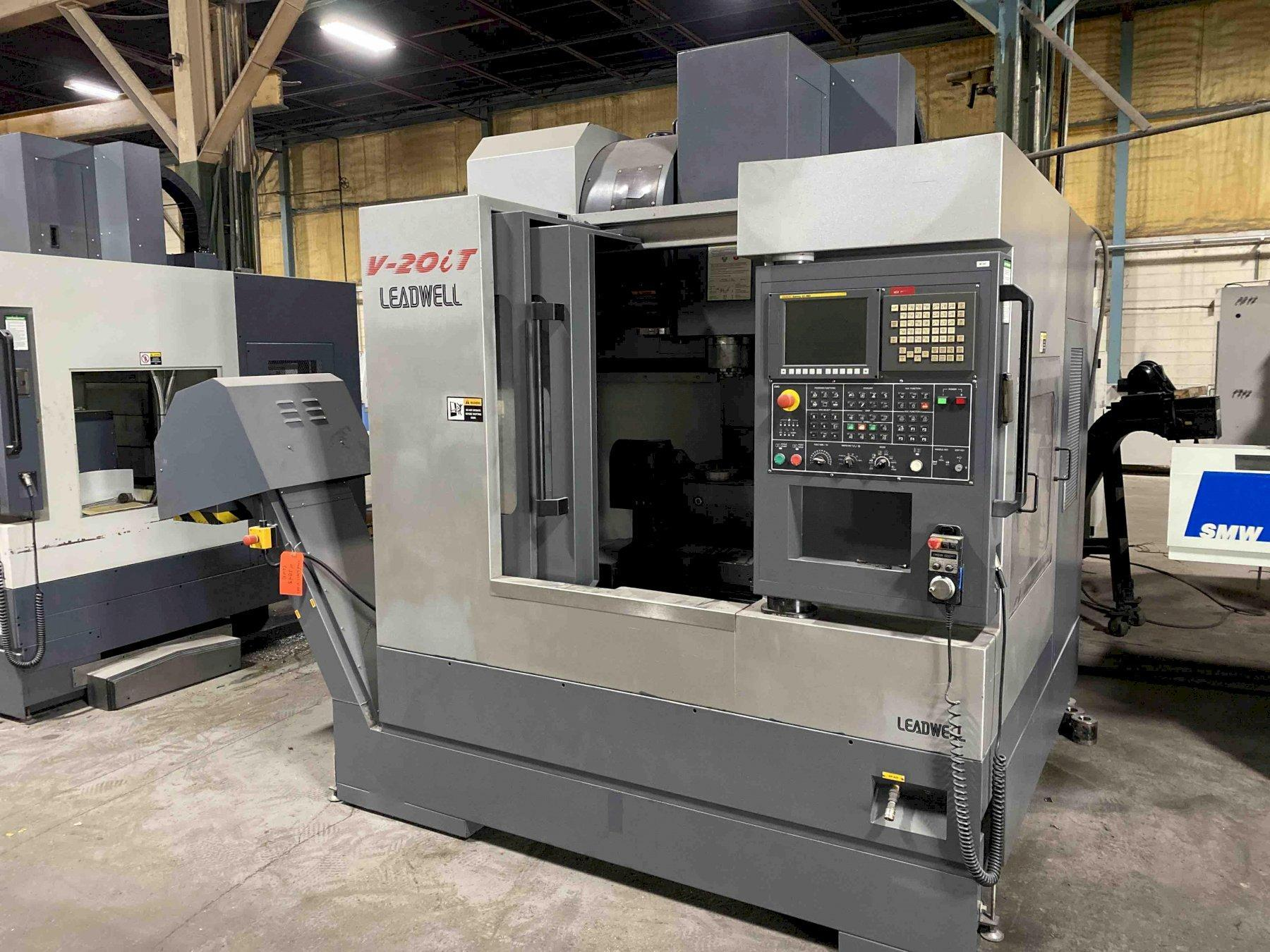 Leadwell V20i CNC 5-Axis Vertical Machining Center, Fanuc 0iMD, 20