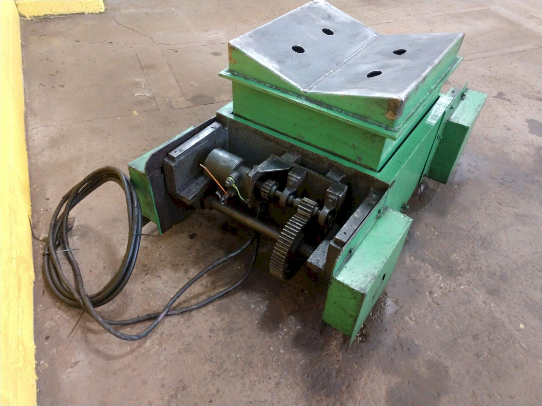 """10,000 LBS X 72"""" WELTY WAY COIL REEL & TRAVERSING COIL CAR. STOCK # 0207421"""