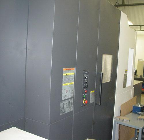 OKUMA MB-4000H, OSP -P300M CNC