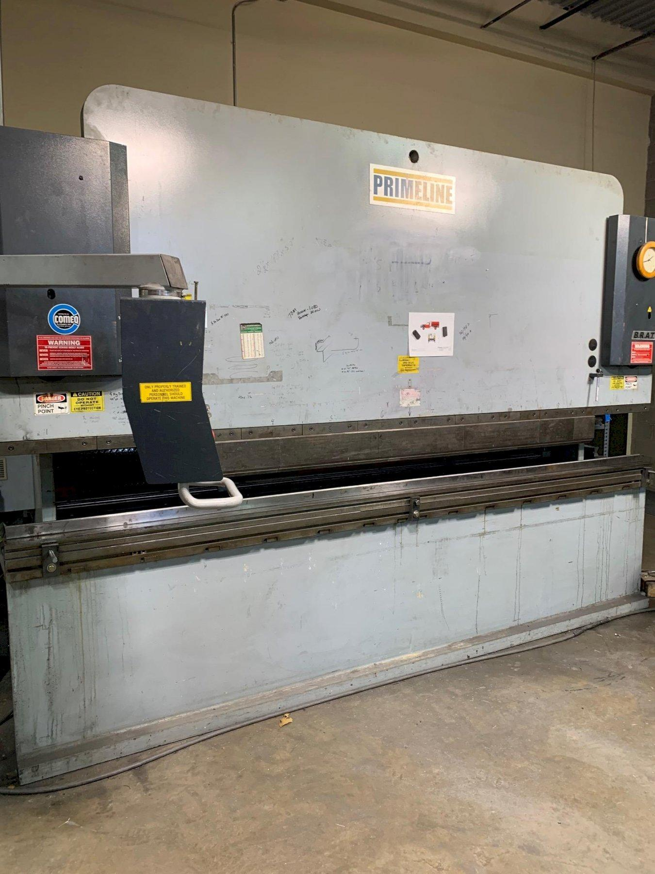 175 Ton x 12 Ft Primeline Hydraulic Press Brake Model 175 x 12