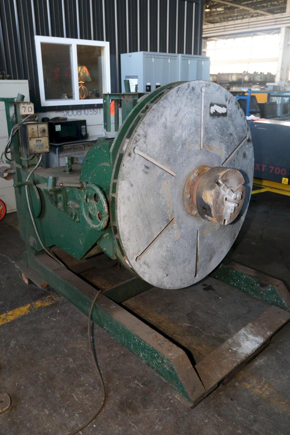 "4000 LB X 48""  IRCO POWER ROTATION WELDING POSITIONER: STOCK #11339"