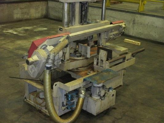 "12.2"" Behringer Semi-Automatic Mitering Horizontal Band Saw Model HBP 310-523G"