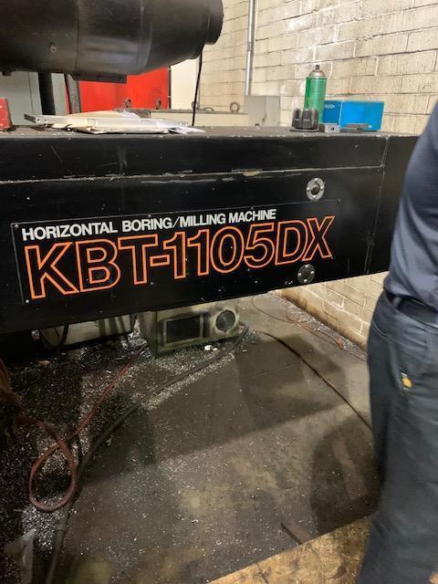 "4"" KURAKI KBR-1105BX CNC TABLE TYPE HORIZONTAL BORING MILL. STOCK # 1060021"