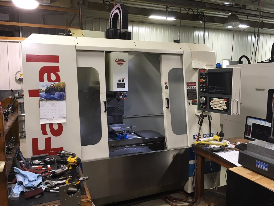 FADAL VMC3020 PERFORMANCE SERIES CNC VERTICAL MACHINING CENTER