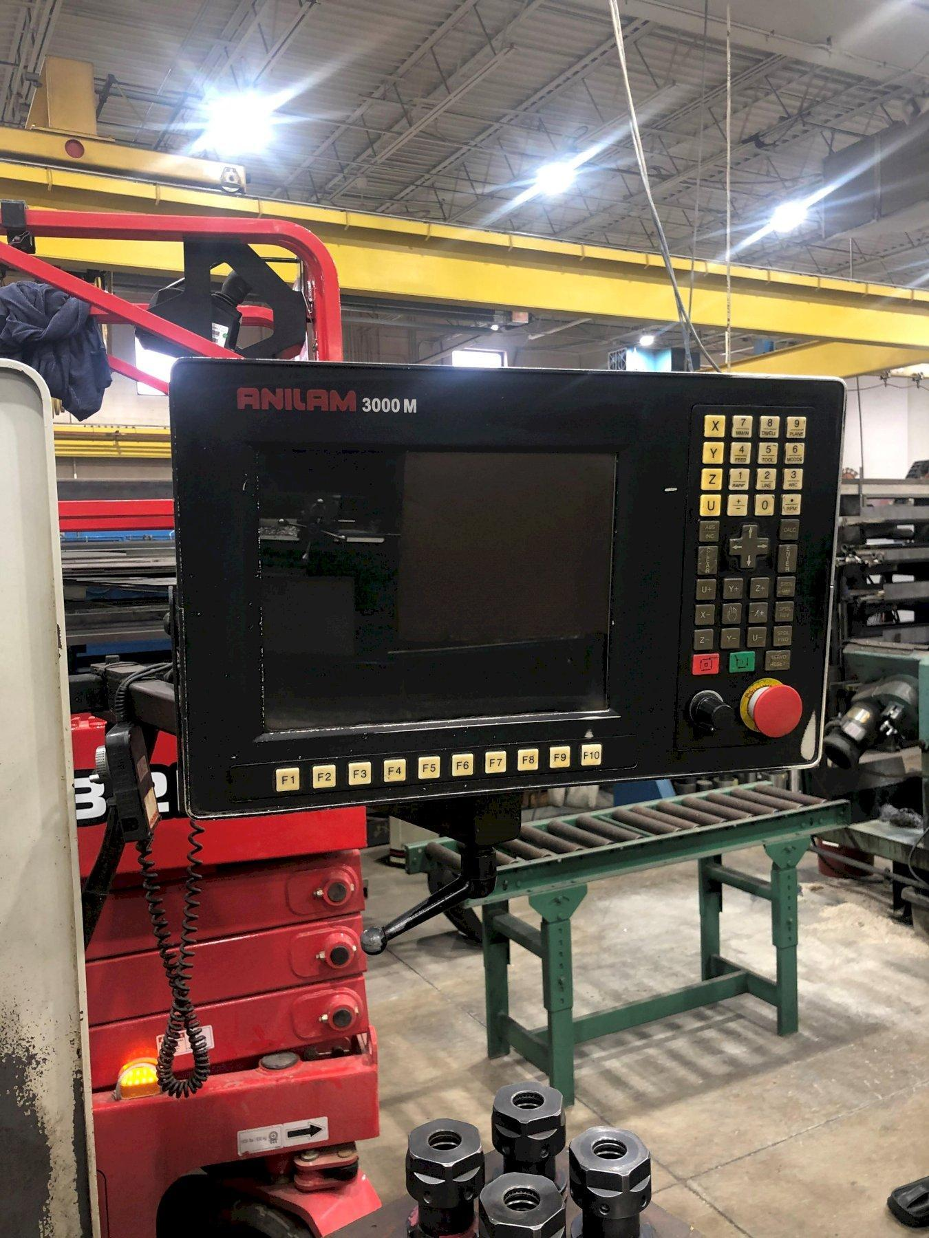 WILLIS Model BTM-40 3-Axis CNC Vertical Bed Milling Machine, New 2006.