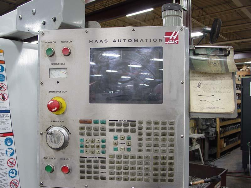 """HAAS SL-30T Haas CNC Control, 30"""" Swing Over Bed, 14.5"""" Swing Over Turret, 34"""" Turning Length, 12 Position Turret, 3"""" Bar Capacity, 2006."""