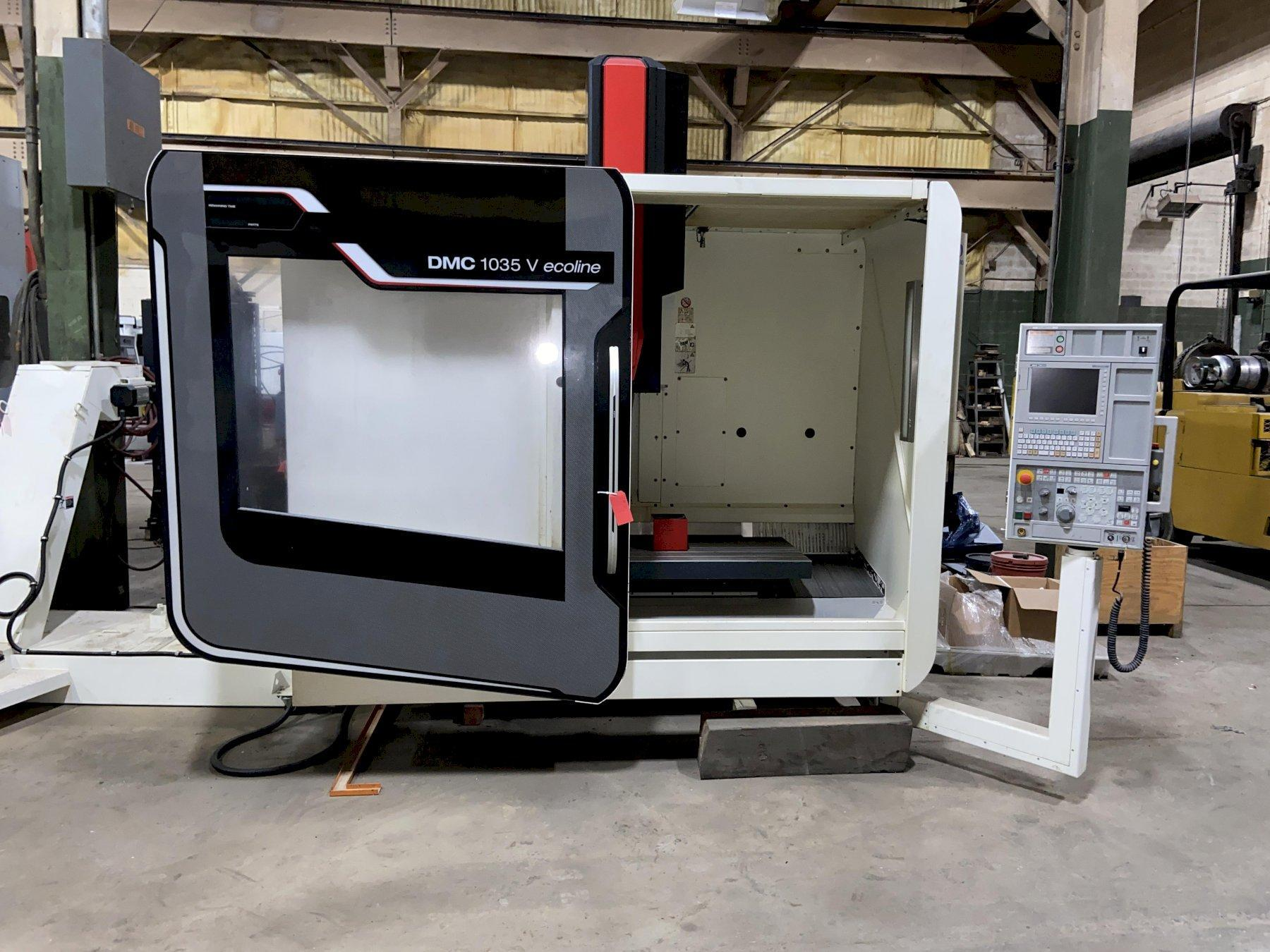 "DMG/Mori Seiki 1035V Econoline CNC Vertical Machining Center, Mitsubishi M730BM, 40""/22""/20"" Travels, 12K Spindle, 30 ATC, CT-40, Low Hours Holders, 2014"