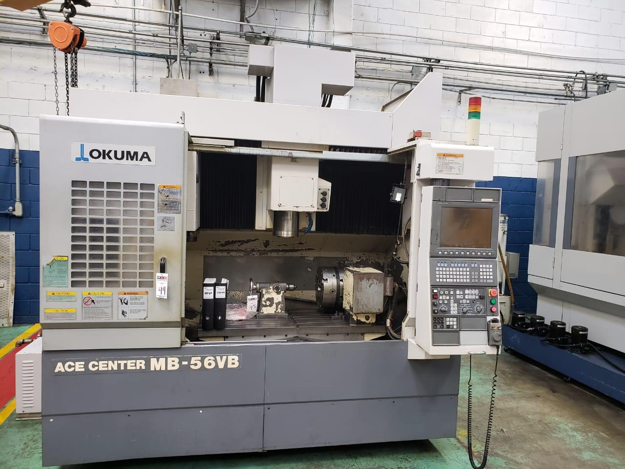 2007 Okuma Ace Center MB-56VB - Vertical Machining Center