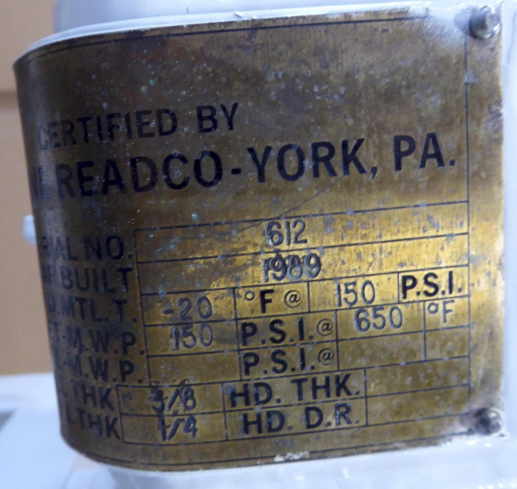 Teledyne Readco Laboratory Mixer Model 107673, 1 Quart Capacity, Stainless