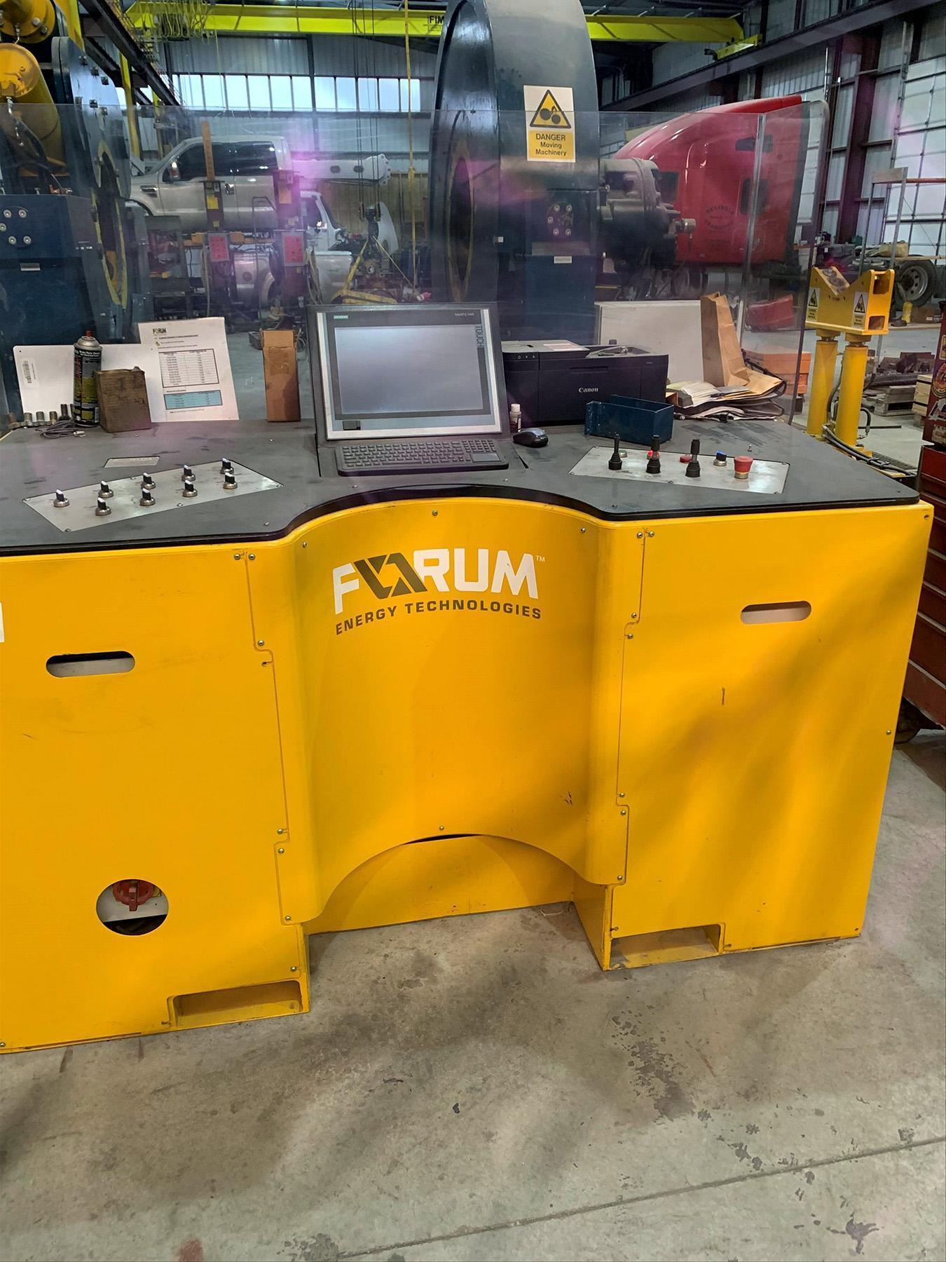 USED, FORUM ENERGY TECHNOLOGIES FULLY ROTATIONAL TORQUE BUCKING MACHINE