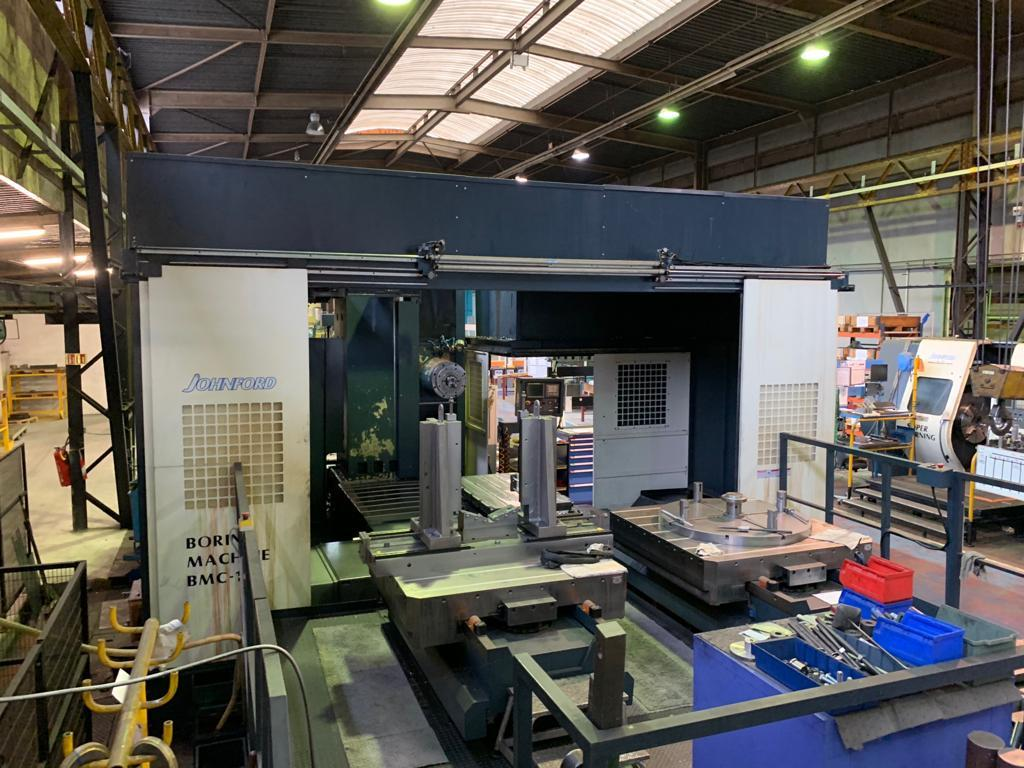 Johnford BMC 110 + ATC CNC Boring Mill with Upgraded 5.1