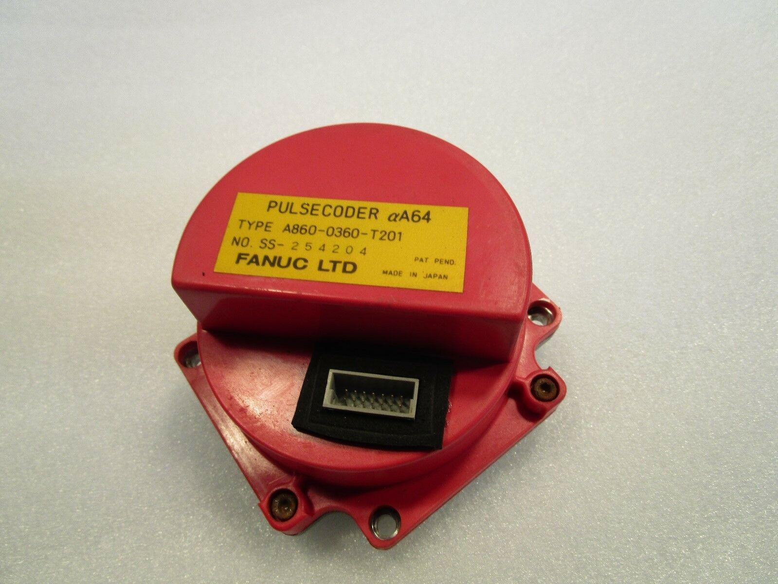 Fanuc Pulsecoder Alpha A64 A860-0360-T201 Fanuc Servo Encoder