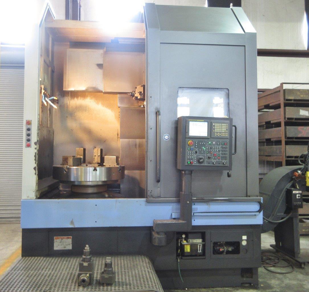 2009 Doosan Puma VT1100M - CNC Vertical Lathe