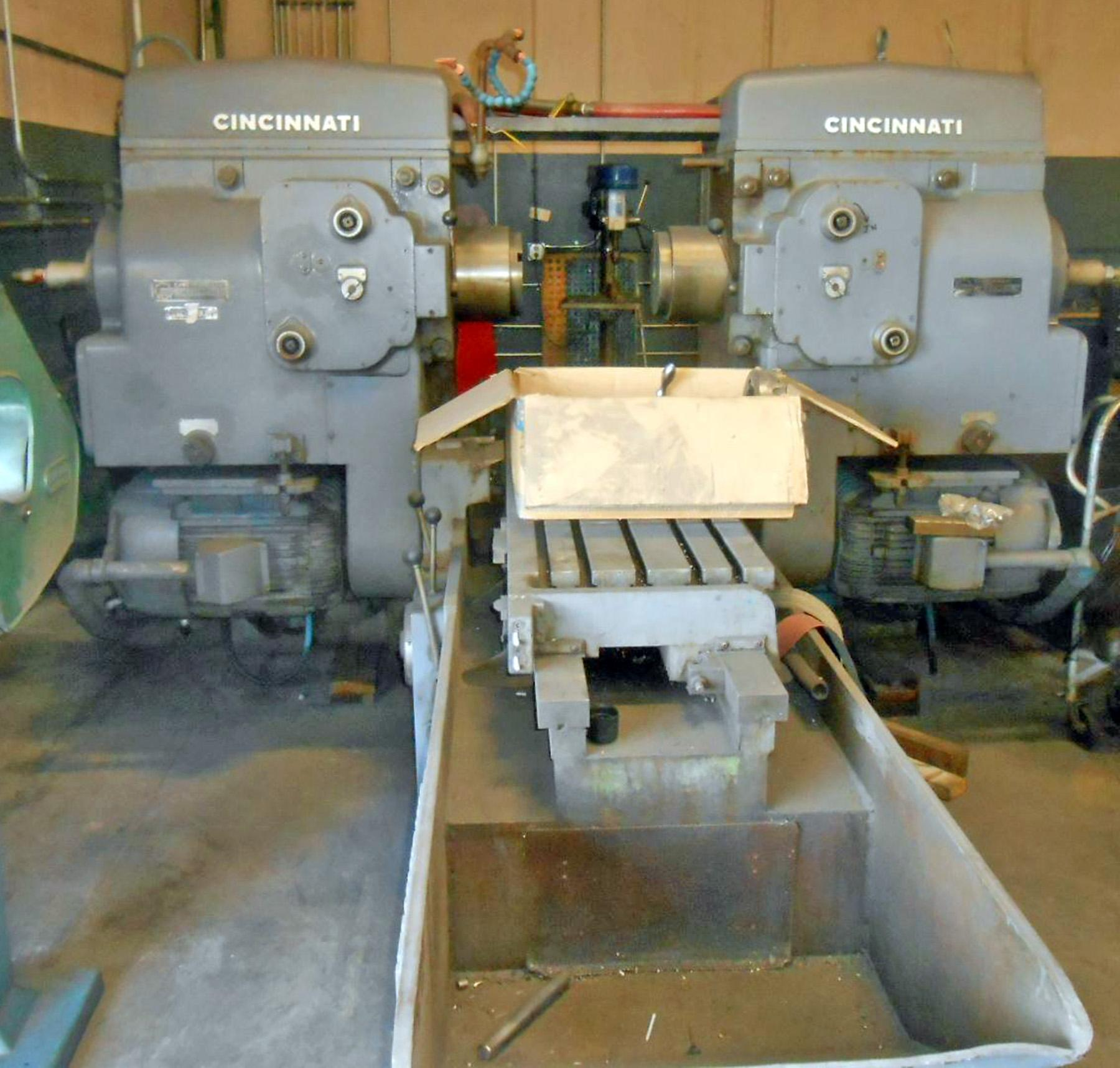 USED, CINCINNATI MODEL 430-186 RAM TYPE HYPOWERMATIC DUPLEX PRODUCTION MILLING MACHINE