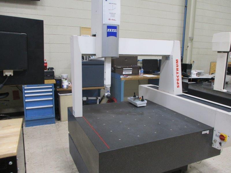 Zeiss Spectrum 10/10/6 RDS DCC Coordinate Measuring Machine