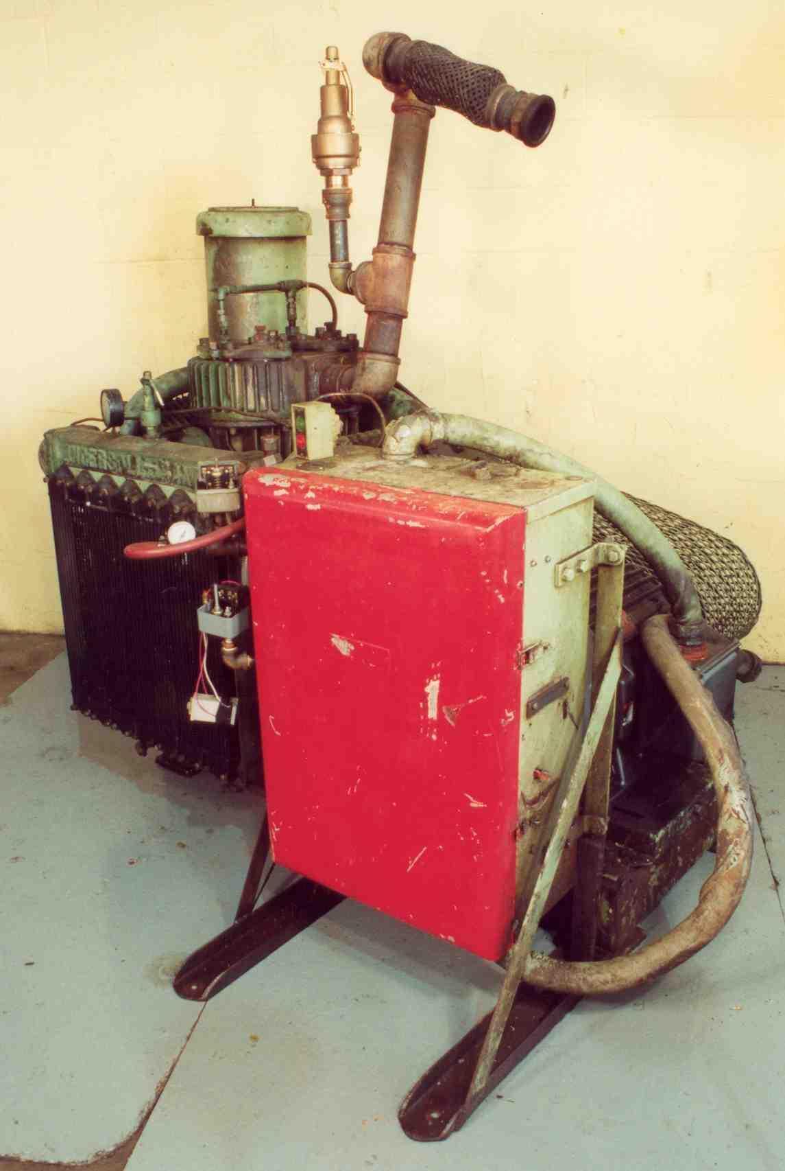 75 HP INGERSOLL-RAND RECIPROCATING AIR COMPRESSOR:  STOCK #15559