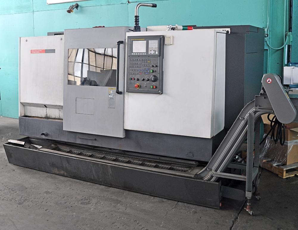"2.84"" x 23.6"" HWACHEON  CUTEX 240A, 2 Axis CNC Turning Fanuc CNC , 2007"