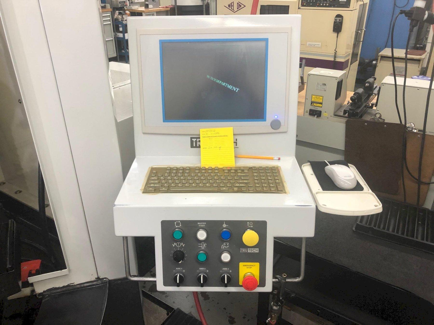 TRU TECH 3 Axis Precision CNC Grinder