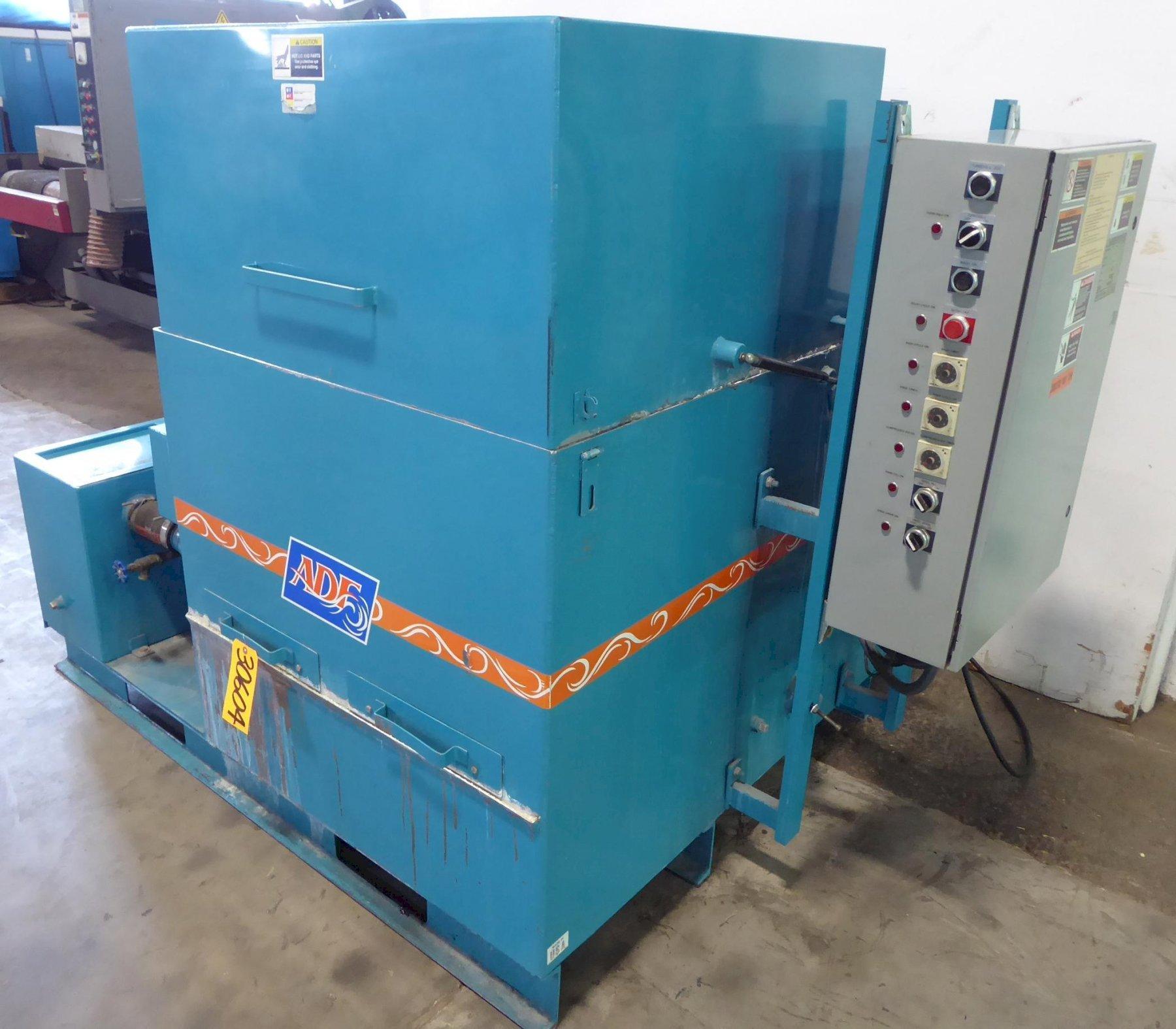"ADF Top Load Load Low Pressure High Volume Parts Washer, Model 200, 28"" Diameter Turntable, 500 Lb. Capacity, 200 Deg. F, 100 Gallon Tank, 3 HP, 2010"