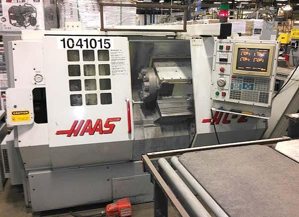 "Haas HL-2, Haas CNC Control, 20"" Swing over Bed. 9.5"" Swing Over Carriage, 8"" 3-Jaw Chuck, Tailstock with 24"" Centers, New 1997."