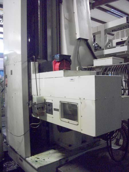 """5"""" DAEWOO CNC TABLE TYPE, Model DB130C, 71"""" x 63"""" Full Contouring Rotary Table, X=118"""", Y=78.7"""", Z= 27"""",W=63"""", 2500 RPM, New 2003."""