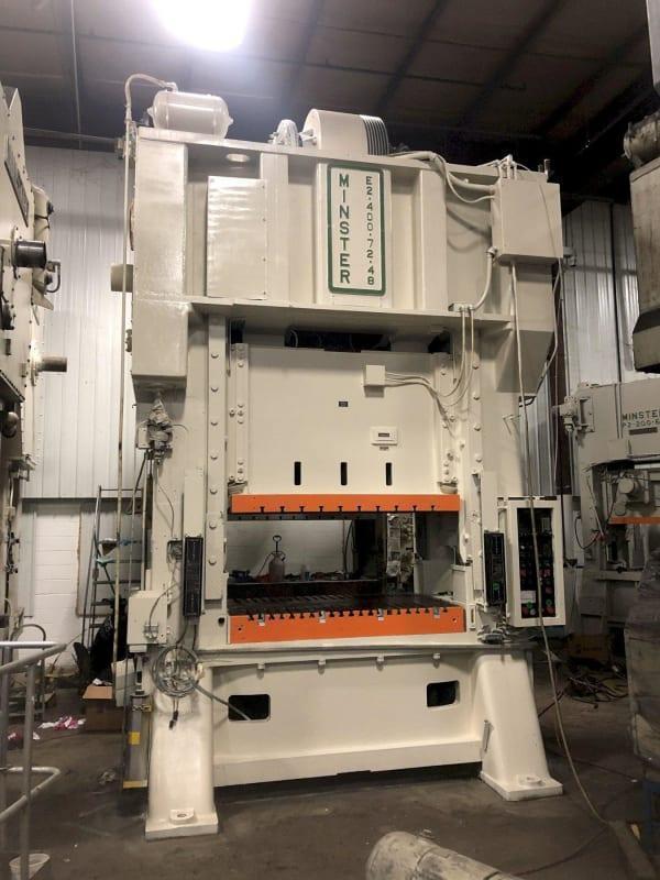 400 TON MINSTER SSDC PRESS