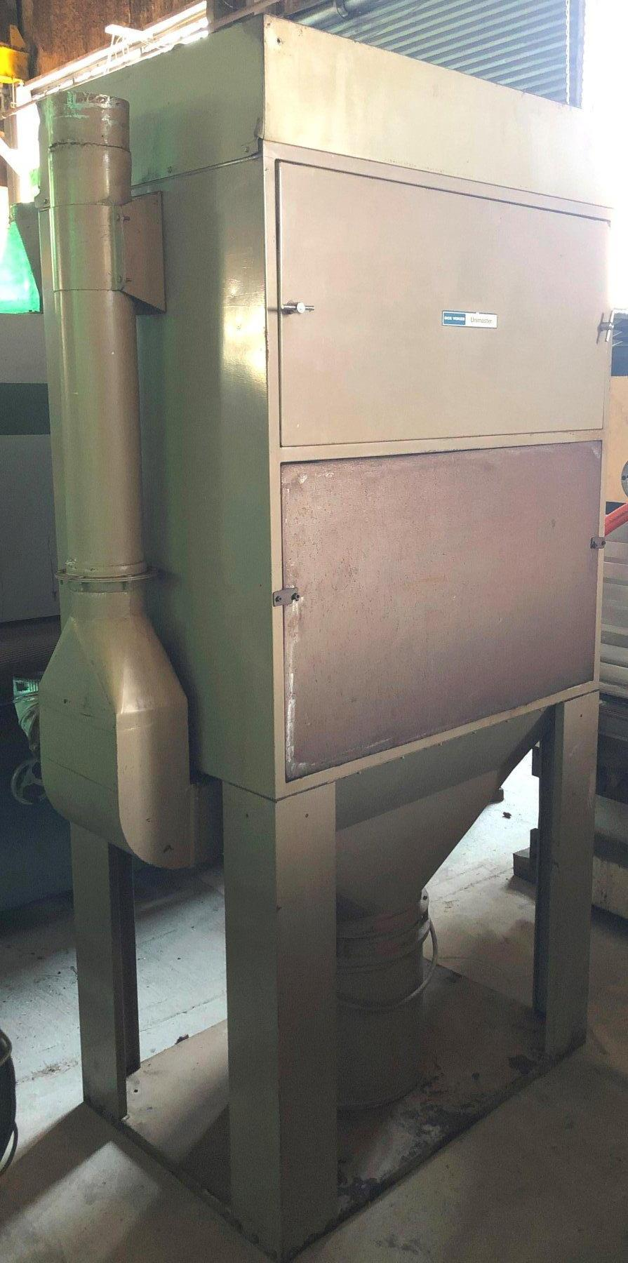 DCE Vokes Dust Collector Model UMA 252 G5, 4 HP