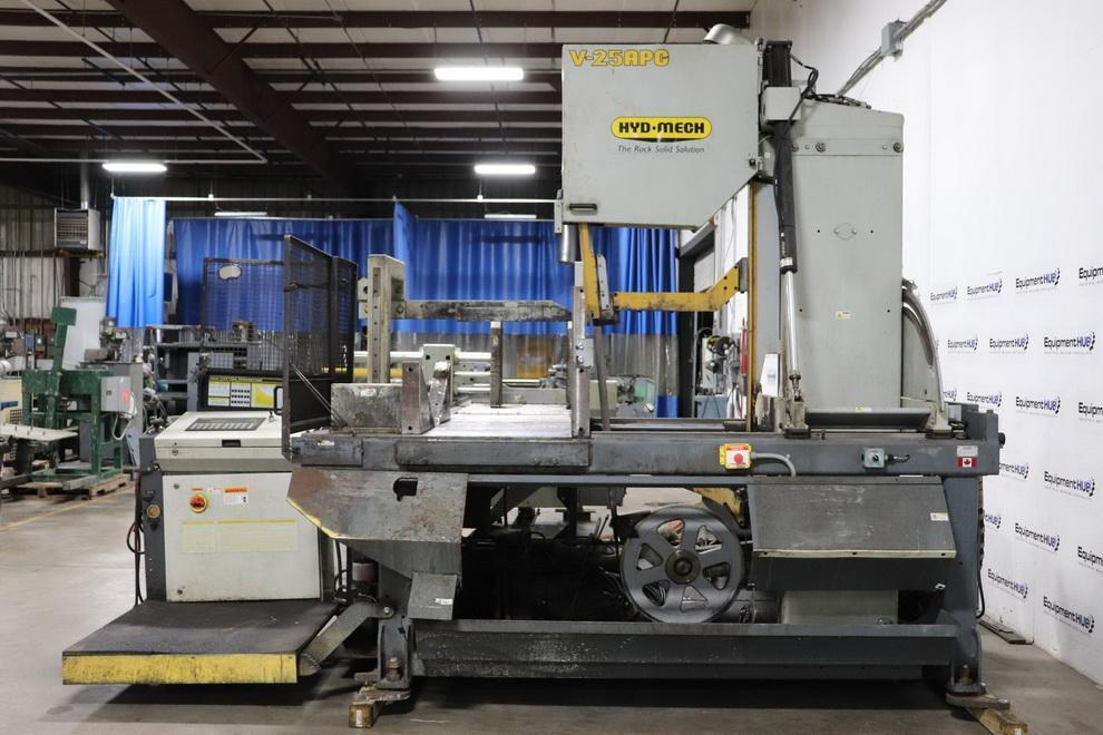"25"" x 30"" HYD-MECH V25APC  Vertical Tilt Frame Band Saw, PC Automatic Controlled or manual control, 2010"