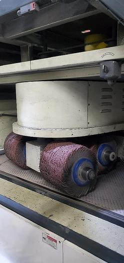 """52"""" Timesaver 2200 Series Rotary Brush Deburring Machine"""