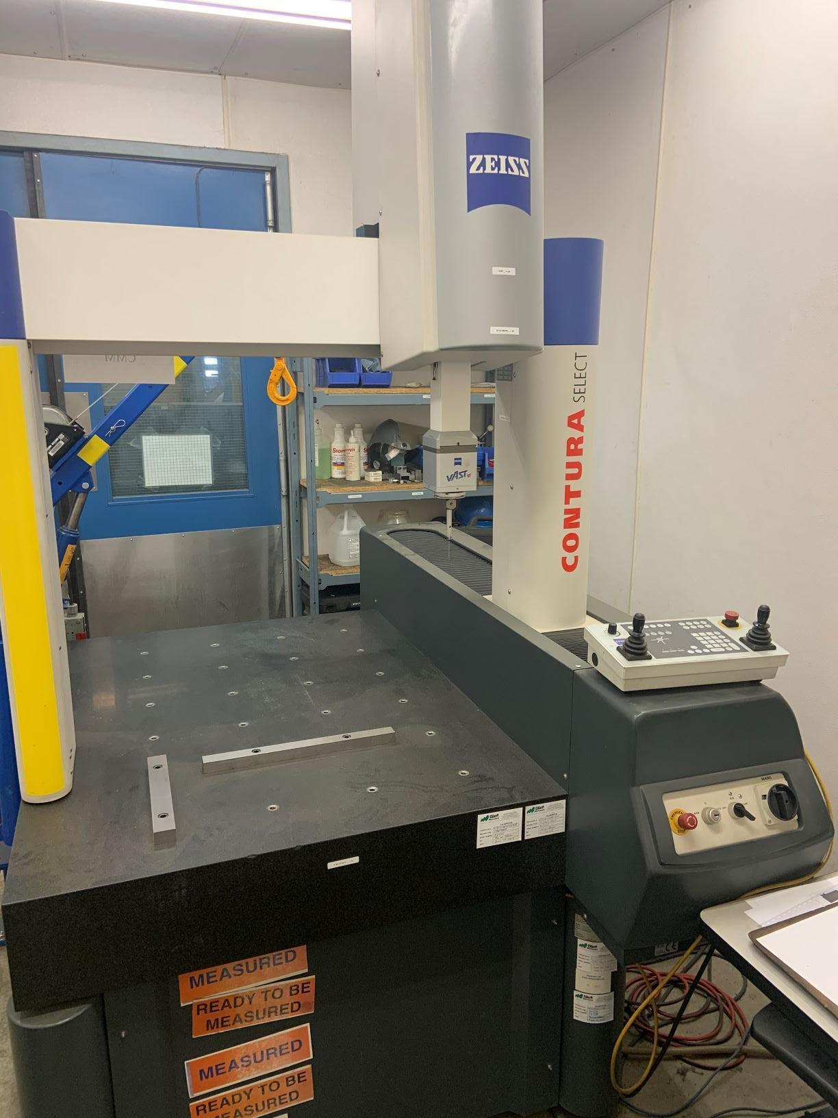 Zeiss Contura 7/10/6, Coordinate Measuring Machine (CMM), Vast XT Probe Head, C99 Controller, Calypso software