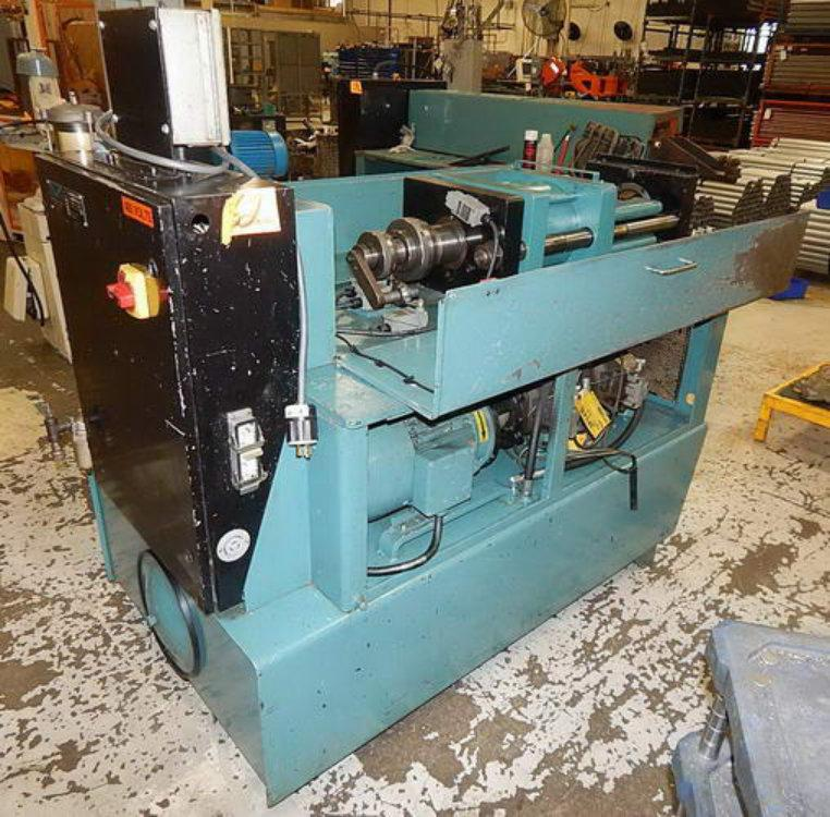 Used EAGLE SINGLE END TUBE FORMING MACHINE , Model SP10  I/O, , Stock No. 10519