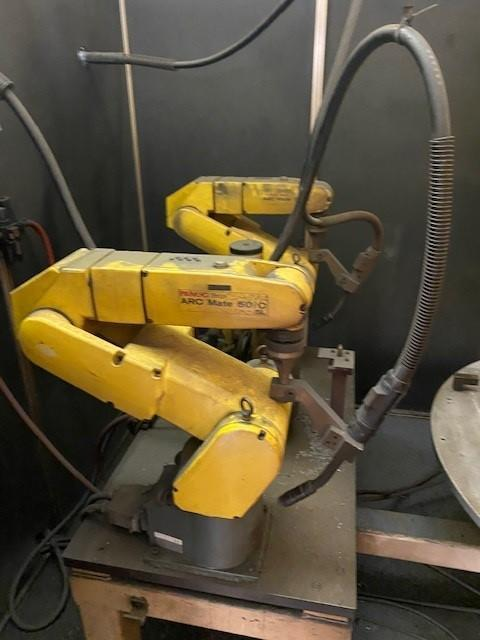 FANUC WELD CELLS (2) AVAILABLE
