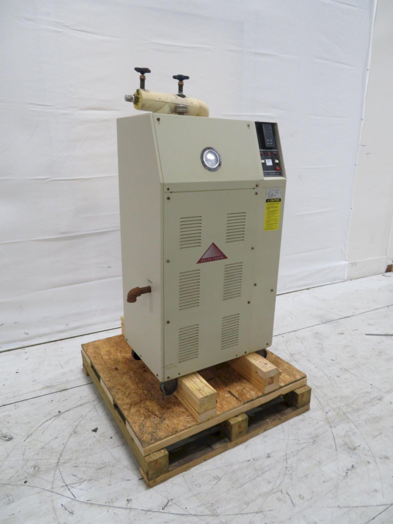 Delta T Used T1221M Hot Oil Unit, .75hp, 12kw, 230V
