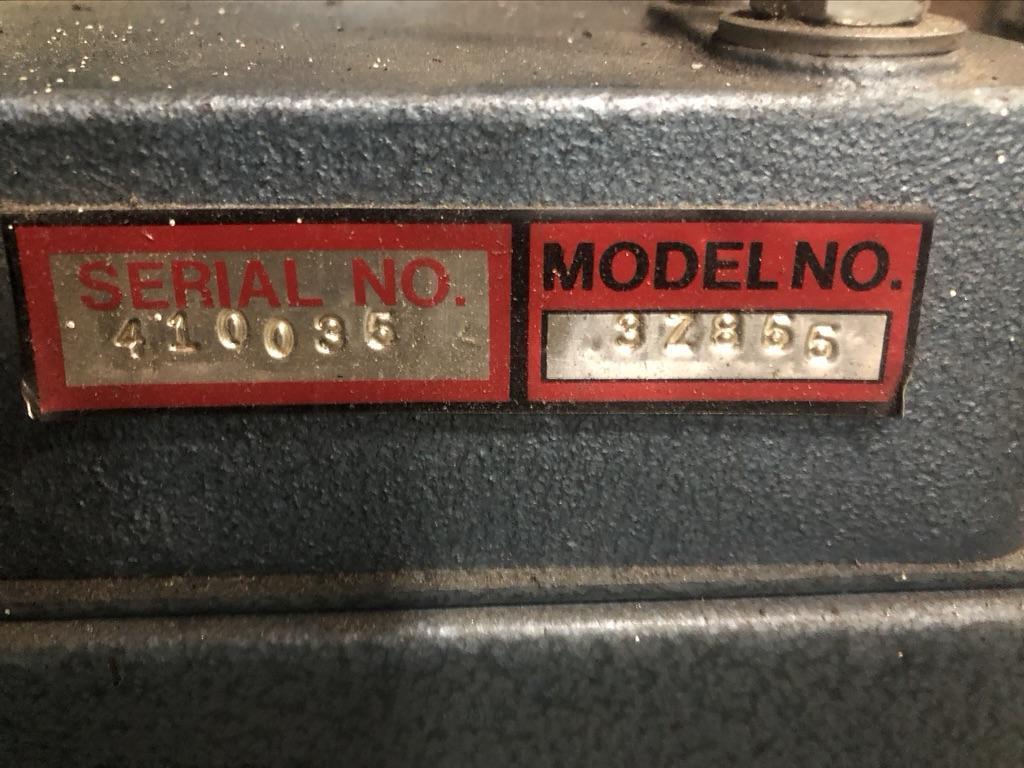 DAYTON BELT/DISC SANDER MODEL 3Z855